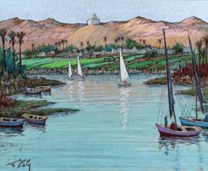 قصة نهر النيل